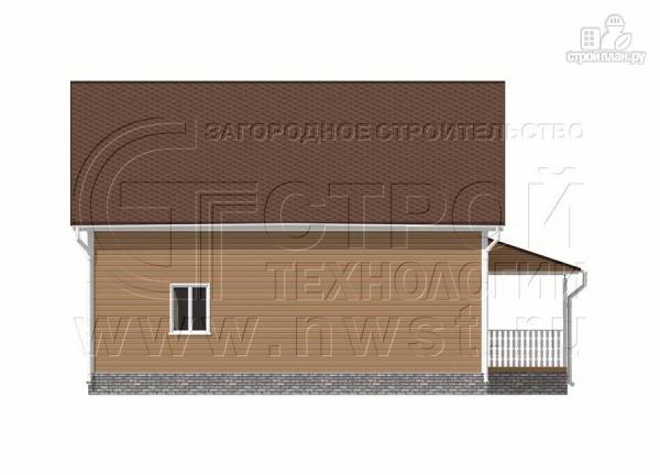 Фото 10: проект загородныйдом 7х10 м с Г-образной террасой 19 м2