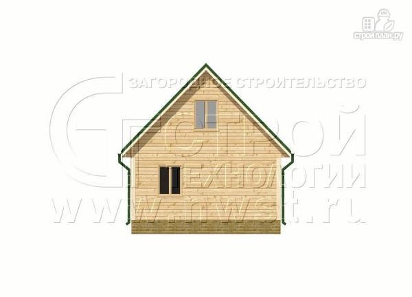 Фото 10: проект дачный дом 6х9 м с террасой 15 м2