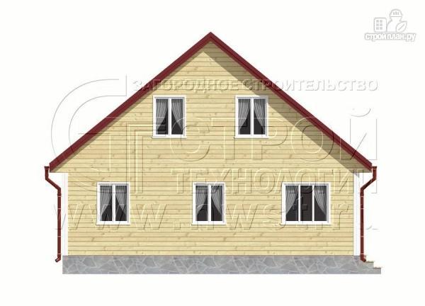 Фото 8: проект дачный дом 6х9 м с мансардой