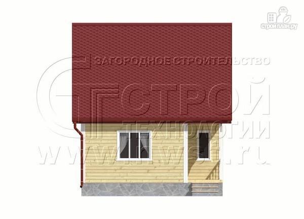 Фото 9: проект дачный дом 6х9 м с мансардой