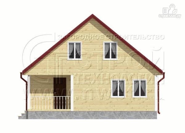 Фото 10: проект дачный дом 6х9 м с мансардой