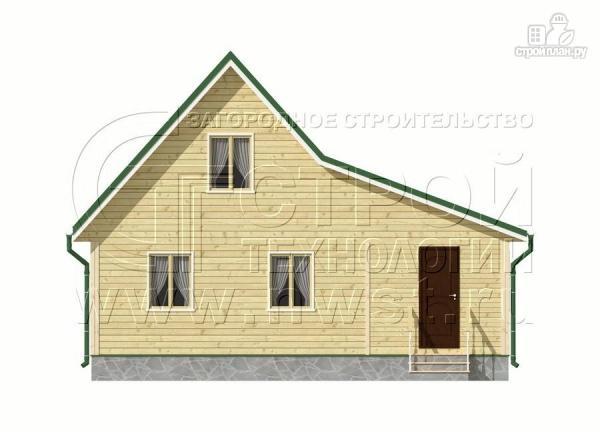 Фото 7: проект дачный дом 6х9 м с верандой