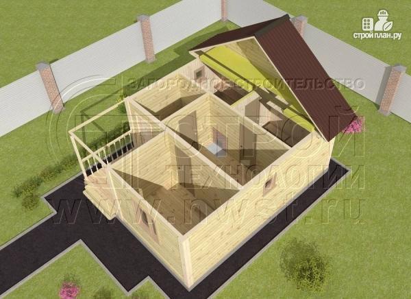 Фото 4: проект баня 4х5 из бруса