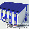 Фото 1: ЛСТК проекты от Cad-Engineering