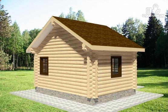 Фото 4: проект дом из оцилиндрованного бревна