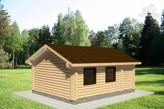 Фото 4: проект бревенчатый дачный дом