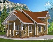 Проект деревянный дом со вторым светом