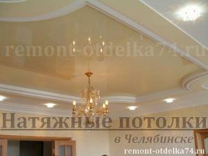 Натяжные потолки в Челябинске за 260р/м2