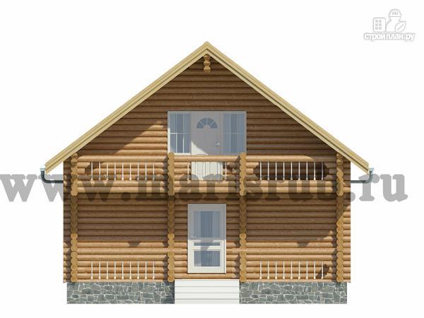 Фото 2: проект деревянный загородный дом с котельной