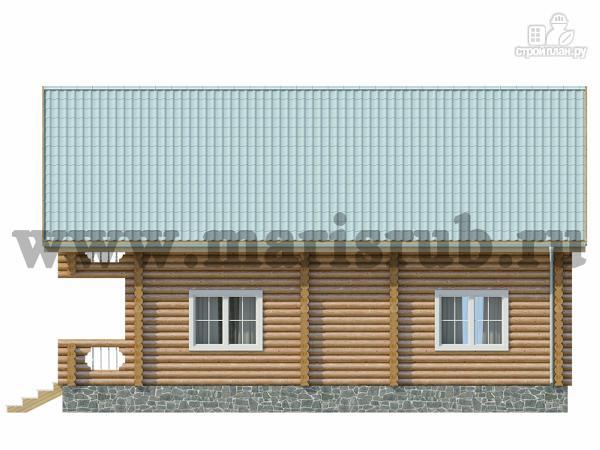Фото 4: проект деревянный загородный дом с котельной