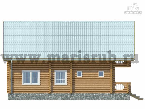 Фото 5: проект деревянный загородный дом с котельной