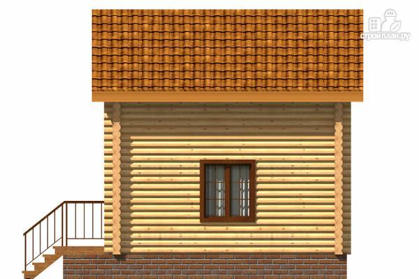 Фото 3: проект небольшой двухэтажный деревянный домик на две спальни