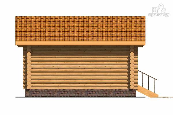 Фото 5: проект маленький деревянный дом с крыльцом