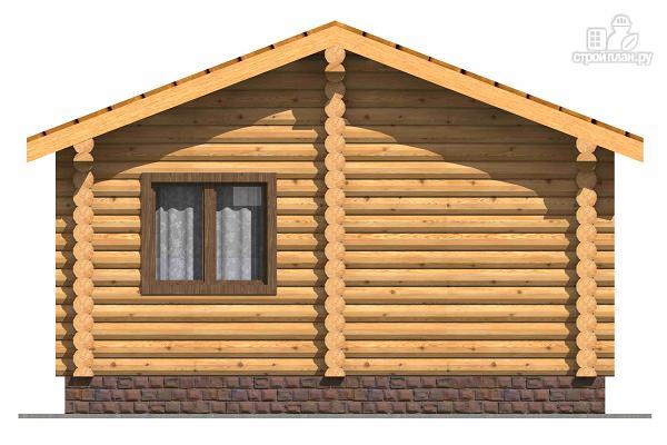 Фото 4: проект маленький деревянный дом с крыльцом