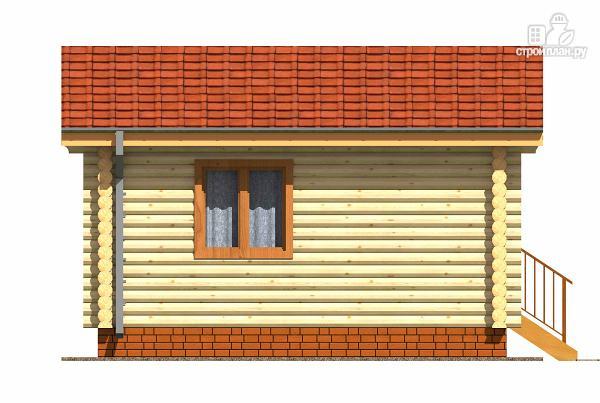Фото 5: проект дачный домик из бревна