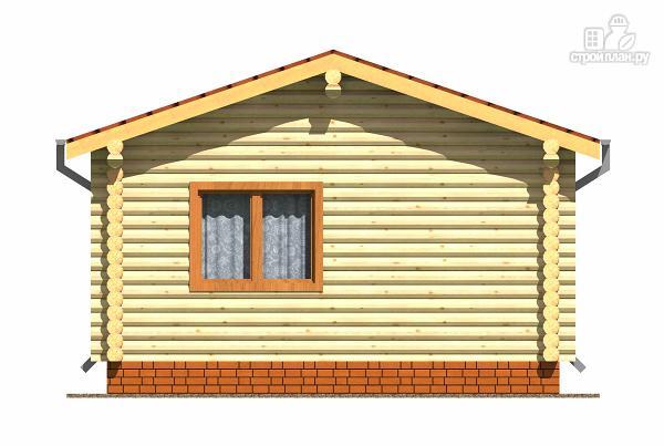 Фото 4: проект дачный домик из бревна