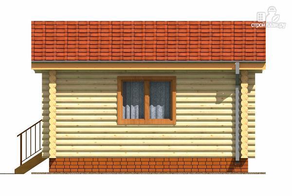 Фото 3: проект дачный домик из бревна