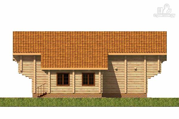 Фото 3: проект большой деревянный загородный дом с  просторной гостиной