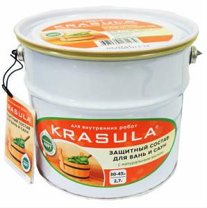 KRASULA, защитный состав для бань и саун