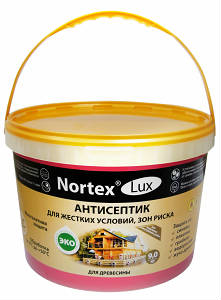 Антисептик Нортекс-Люкс для древесины