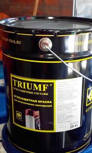 Огнезащитная паста триумф (TRIUMF)