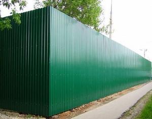 Забор из профнастила от 850р/пм
