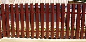 Забор из штакетника металлического от 1180р/пм