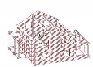 Услуги по проектированию деревянных домов,бань