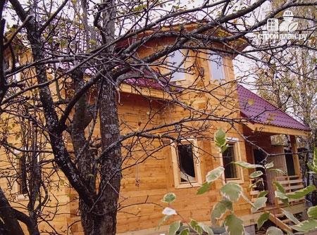 Фото 9: проект деревянный дом 6х9 с эркером