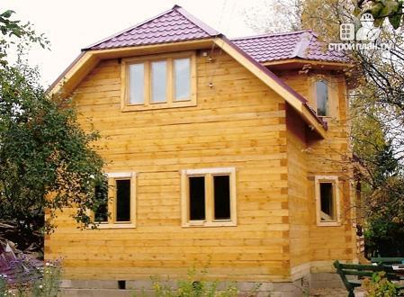 Фото 8: проект деревянный дом 6х9 с эркером