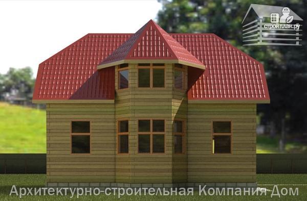 Фото 6: проект деревянный дом 6х9 с эркером