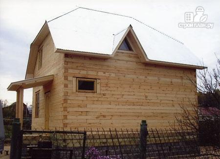 Фото 9: проект дом из бруса 7х7 с мансардой