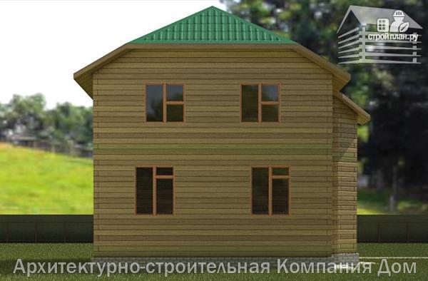 Фото 6: проект дом из бруса 7х8