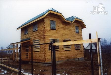 Фото 9: проект дом из бруса 7х8