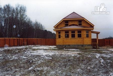 Фото 9: проект дом деревянный 7х9 с верандой