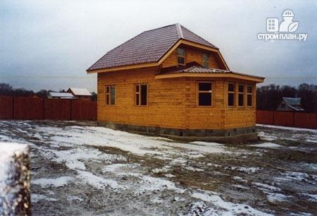 Фото 8: проект дом деревянный 7х9 с верандой