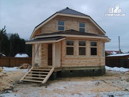 Фото 10: проект дом деревянный 7х9 с верандой
