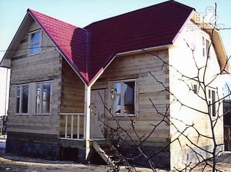 Фото 8: проект дом из бруса 7,5х8 с мансардой
