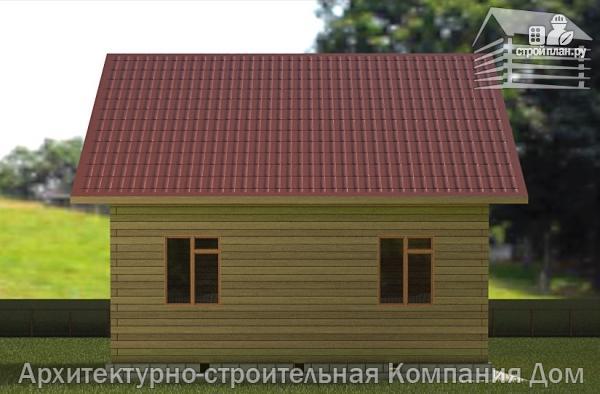 Фото 6: проект дом из бруса 8х8