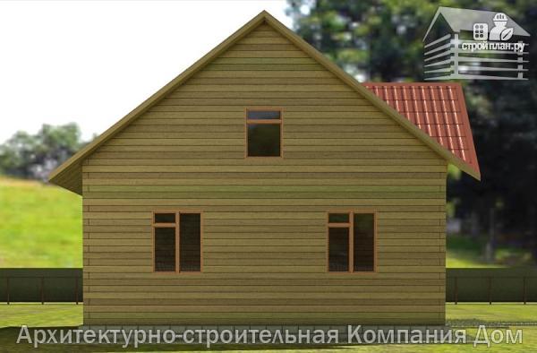Фото 6: проект деревянный дом с террасой