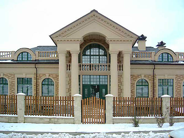 Фото Фасадный декор из стеклофибробетона (фибробетона)