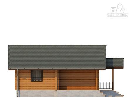 Фото 6: проект одноэтажный дом из клееного бруса