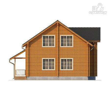 Фото 5: проект двухэтажный дом из клееного бруса