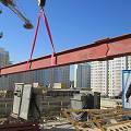 Фото 3: Монтаж металлоконструкций актового зала школы