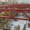 Фото 4: Монтаж металлоконструкций спортивного зала школы