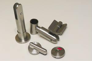 Нержавеющая фурнитура объемная сталь для перегородок и кабин туалетных