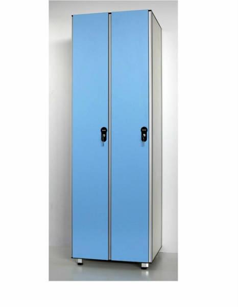 Фото Sanikab. Спортивная мебель шкафчики для раздевалок, шкафы для бассейнов Hpl