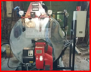 Парогенератор дизельный ПГ-09 для бетонного завода и БСУ