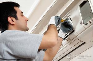 Cервисное обслуживание систем вентиляции и кондиционирования