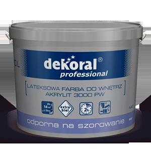 ��������� ������ �� ������ ������ Dekoral Professional Akrylit 3000 PW ������� 15 �